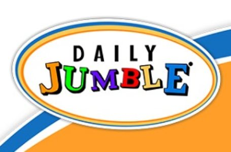 Daily Jumble  November 1 2020 Answers